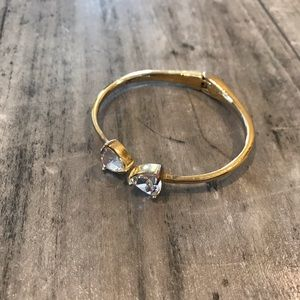 Kate Spade Gold Bracelet with Stones